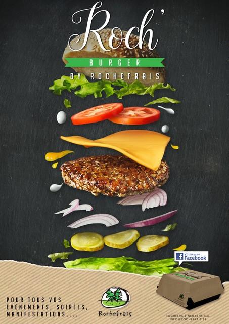 Affiche Roch'Burger